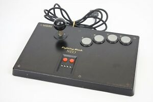FIGHTING-STICK-NEO-Ref-2124-NEO-GEO-Controller-Tested-HORI-JAPAN-Game
