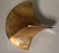 Centro Duchamp Art Charles Perry Messing Brass Ottone 1970  Skulptur sculpture