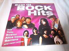 v/a BEST OF ROCK HITS-TOTO/BOSTON/ALICE COOPER/SANTANA/KANSAS/ETC. NEW SEALED LP