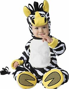 Incharacter Zany Zebra Animal Pet Zoo Infant Baby Halloween Costume 6079