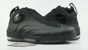 NIKE TOTAL AIR FOAMPOSITE MAX USED SIZE 15 BLACK ANTHRACITE 472498 ... 8593845bc