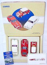 Corgi Toys 1:43 MINI COOPER FERRARI 250 GTO JAGUAR TOUR DE FRANCE 3-Car Set MIB!