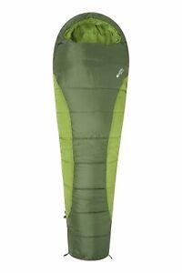 Mountain Warehouse Summit Sleeping Bag Adult Mummy Camping Hiking Winter Warm