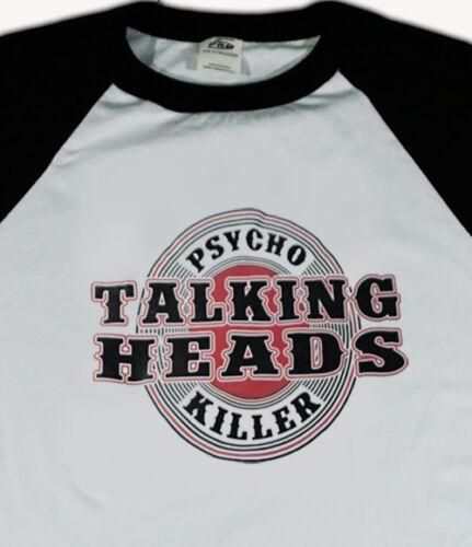 TALKING HEADS new wave T SHIRT rock  All sizes S M L XL 80s post punk