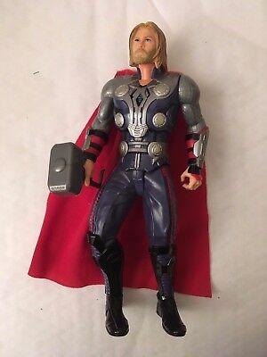 """Ingegnoso Genuine Grande 10"""" Hasbro 2014 Marvel Thor Elettronico Action Figure-mostra Il Titolo Originale"""
