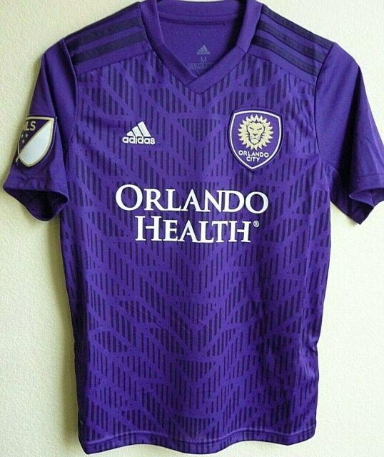 Kids MLS adidas Orlando City FC Home Soccer Jersey Youth-m 7416b ...