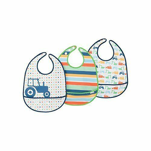 JJ Cole Big Diggers Bib Set 3 Bibs