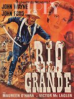 Repro Deco Affiche Rio Grande John Wayne John Ford Sur Papier 310 Ou 190 Grs