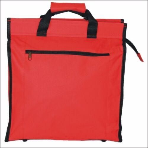 Luggage Rack Bag Shopping Bag 22 L Shoppertasche Bicycle Bag Red