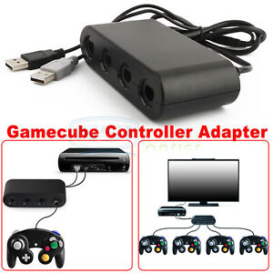 GameCube-Controller-Adapter-4-port-for-nintendo-Switch-Wii-U-amp-PC-USB-NEW-TURBO