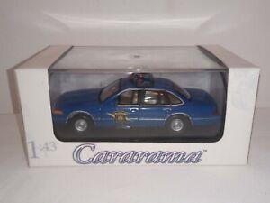 Cararama-Ford-Crown-Victoria-039-Michigan-State-Police-039-como-nuevo-en-caja-1-43