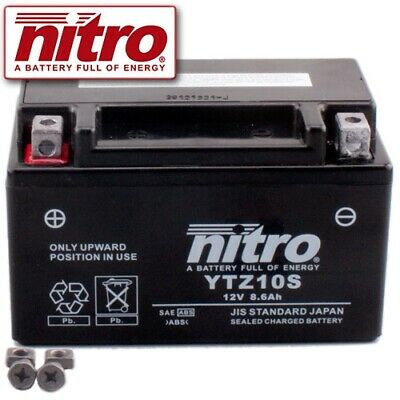 2017 Nitro YTZ10S GEL Batterie Yamaha MT-07 ABS  Bj