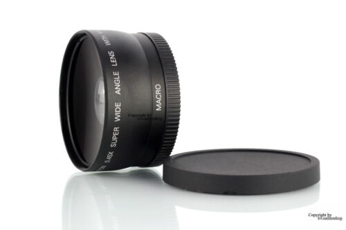 Objektiv Weitwinkel Makro Canon EOS EF-S 18-55mm 58mm 60D 600D 650D 1200D DSLR