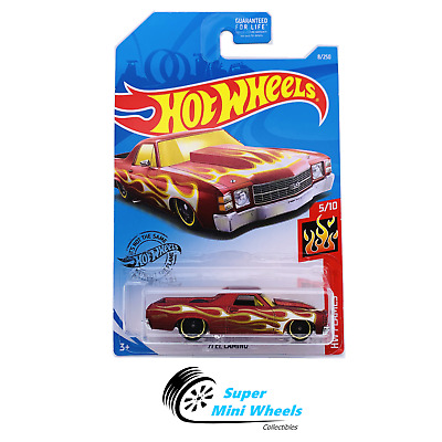 71 El Camino #8 Flames 2019 Hot Wheels Case M