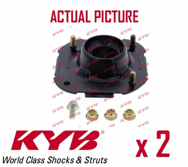 2 x NEW KYB FRONT AXLE TOP STRUT MOUNTING PAIR SET OE QUALITY REPLACEMENT SM5089