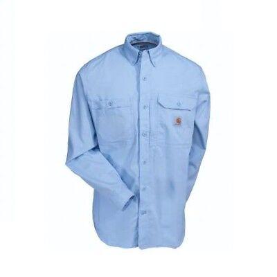 Carhartt Men/'s Shirt Force Ridgefield Long Sleeve Celestial Blue