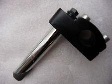 "Zoom Bmx 22.2 mm NERO 4 Bullone Top Alloy Quill Stem BIKE (per 1 ""FILETTATO FORCELLE)"