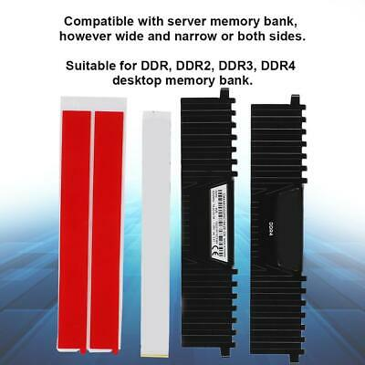 DDR1//2//3//4 RAM Memory Aluminum Cooling Computer Heatsink Vest Radiator