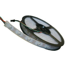 5 Metri Bobina WS2812B 5050 RGB LED Striscia in Silicone IP44 Strip Waterproof