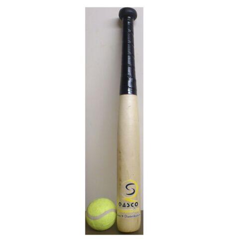 """gratuit ball bn Haute qualité 22/"""" en bois au baseball batte de baseball jardin jeu amusant set"""