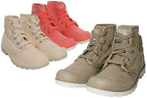 Palladium-pampa-Hi-botas-botas-cortos-marca-de-zapatillas-canvas-senora