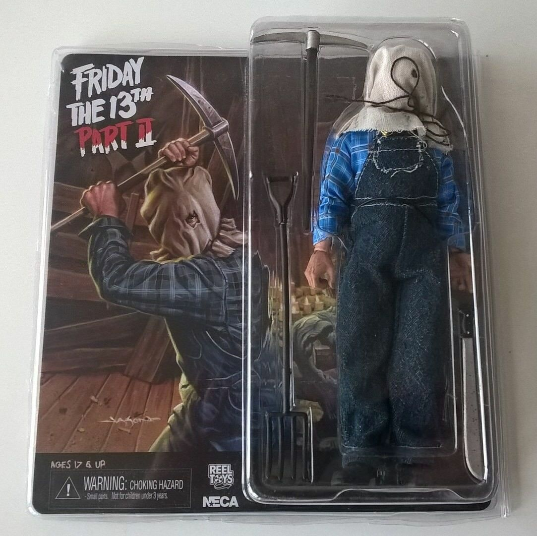 Friday the 13 th Jason Voorhees Part 2 II figurine de collection NECA occasion