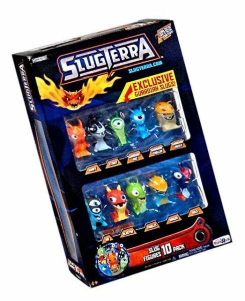 Slugterra Exclusive Mini Slug 10-Pack Includes 3 Guardian Bludgeon Stinky Joules