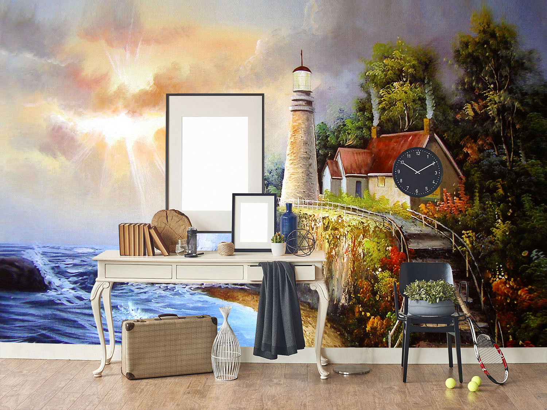 3D Ölgemälde Küstev 63 Tapete Tapeten Mauer Foto Familie Tapete Wandgemälde DE