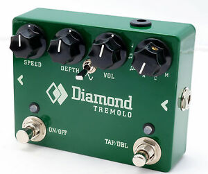 Diamond-Pedals-Tremolo-Guitar-Effect-Pedal-Brand-new-Worlwide-shipping