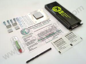 Xbox-360-Slim-Hybrid-eXtreme-Uniclamp-Repair-Kit-w-Tools-RROD-X-Clamp-S-Set
