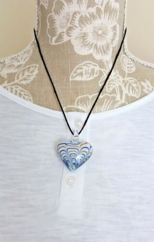 *UK* LADIES MURANO GLASS LAMPWORK PENDANT NECKLACES VARIOUS STYLES IDEAL GIFT