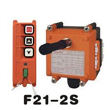 Overhead Hoist Crane Radio Remote Control 2 Channels F21-2S (1T+1R) AC/DC18V-65V
