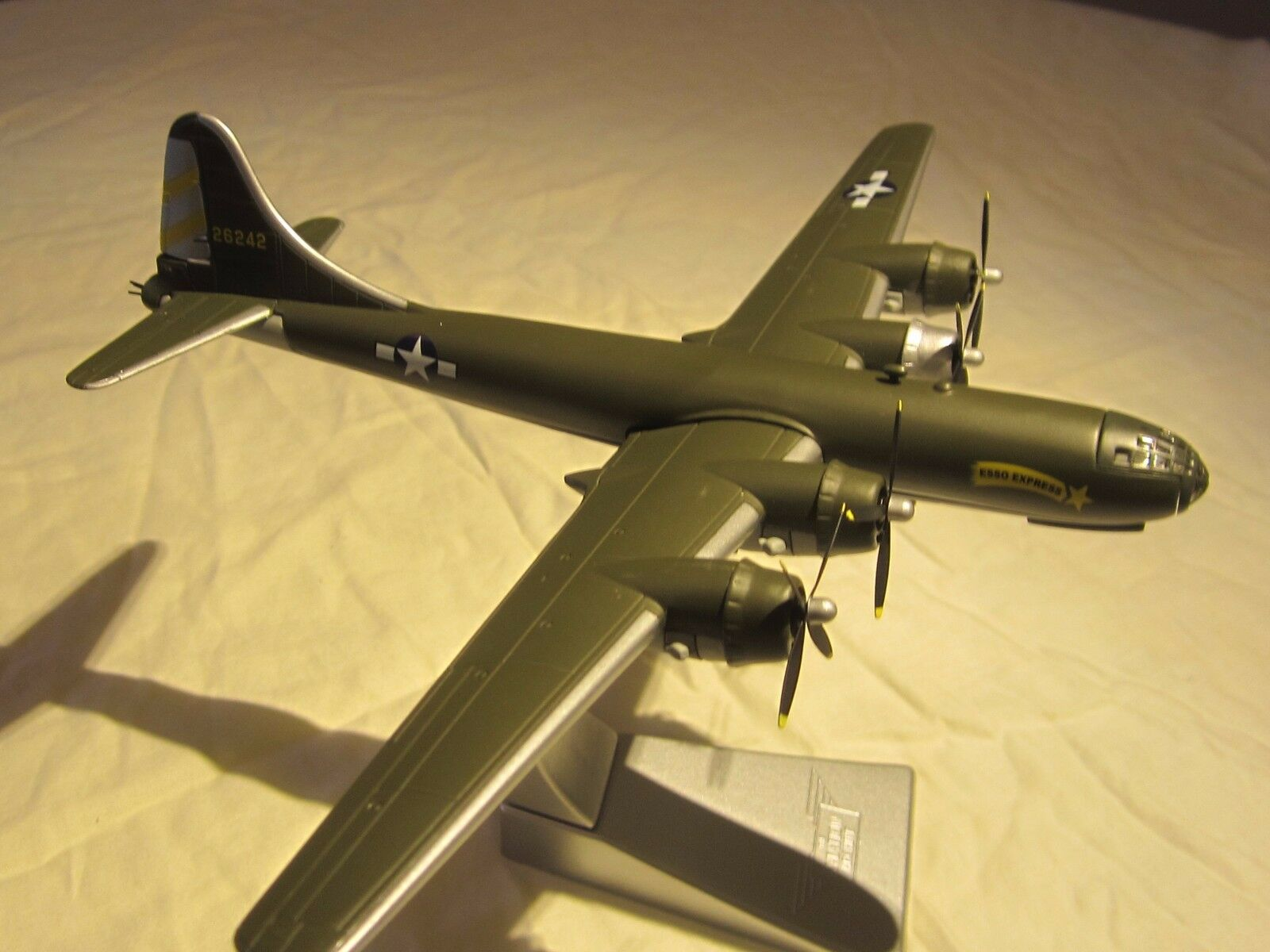 Boeing B-29 Superfortress  Esso Express  1 144 scale, die-cast model by Corgi.