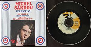 MICHEL-SARDOU-034-LES-RICAINS-034-CD-4-TITRES
