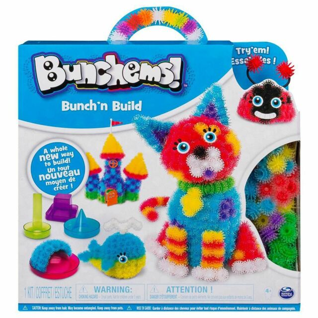 Bunchems Bunch 'N Build Making Colourful Balls 3D Pictures Crafts 370 Bunchems