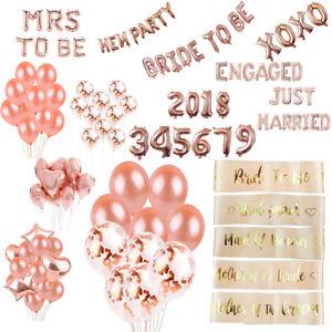 Rose-Gold-Foil-Balloon-Sets-Helium-Confetti-Birthday-Wedding-Party-Love-Decor