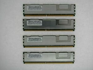 16go (4x 4 Go) Ram Pc2-5300f Fb-dimm Pour Apple Mac Pro 2006 1,1 2007 2,1 Par Processus Scientifique