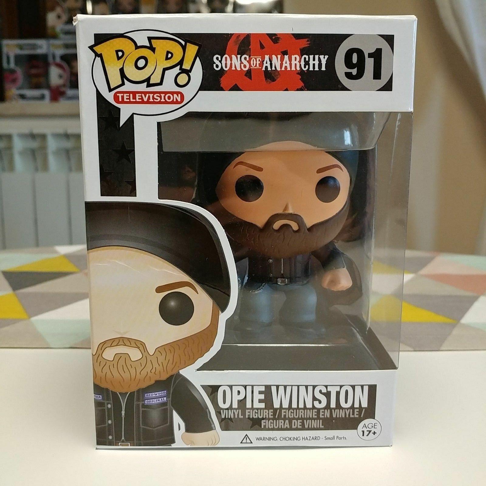 Funko Pop  VAULTED Sons of Anarchy - Opie Winston (Inclusa Pop  Predector)