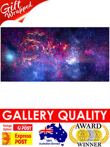NEW-Center-of-Milky-Way-Galaxy-NASA-Space-Hubble-Giclee-Art-Print-or-Canvas