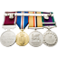 Small-Black-Watch-Regimental-Tartan-Medal-Display-Case thumbnail 4