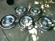 1969 1970 1971 5 Ford Hubcaps Wheel Cover 14 Torino Rachero Fairlane Galaxie