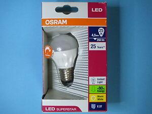 LED-Superstar-Osram-230-V-E27-4-5-W-25-W-Tropfenform-dimmbar