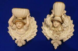 Deux-Royal-Worcester-Kate-Mur-De-Greenaway-Poches-Environ-1885