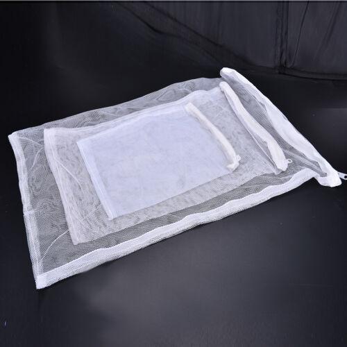 1x Durable Nylon Mesh Aquarium Fish Tank Pond Filter Supplies Media Zip Bag YF