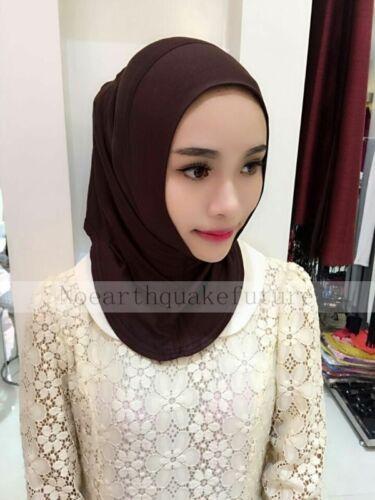 New Muslim 100/% Cotton Inner Hijab Caps Islamic Underscarf Arab Ninja Hats