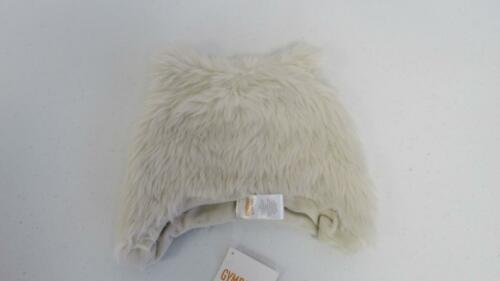 GYMBOREE Animal Party Boys Cream Faux Fur Winter Hat Size12-24 months NEW