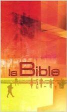 French Bible La Bible, Segond 21,Hardcover,21st Century Segond,Orange Yellow f/s