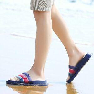 Hot Beach Home Outdoor Flip-flops Bathroom Slippers Men/'s Sandals Summer Shoes