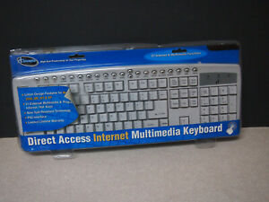 I Concepts 78150 Iconcepts 78150 Direct Access Multimedia Keyboard
