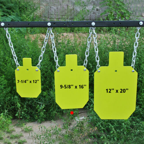 """10/""""x16/""""x7//16/"""" Details about  /AR500 Steel Metal Target for Shooting IDPA//IPSC Torso Silhouette"""